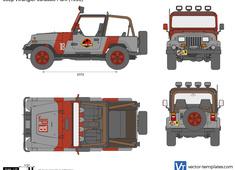Jeep Wrangler Jurassic Park YJ
