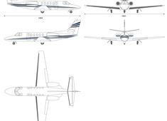 Cessna 550 Citation Private Jet