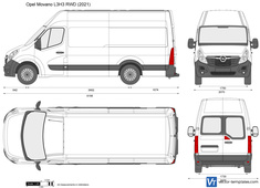 Opel Movano L3H3 RWD