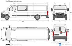 Opel Movano L4H2 Combi