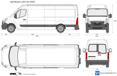 Opel Movano L4H2 Van