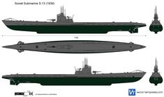 Soviet Submarine S-13