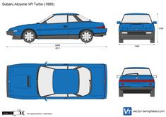 Subaru Alcyone VR Turbo