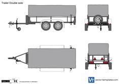 Trailer Double axle
