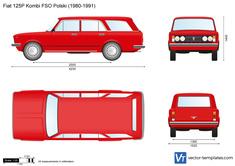 Fiat 125P Kombi FSO Polski