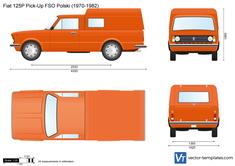 Fiat 125P Pick-Up FSO Polski