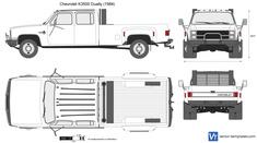 Chevrolet K3500 Dually
