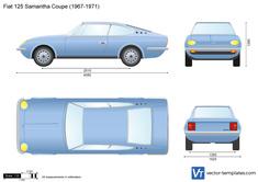 Fiat 125 Samantha Coupe