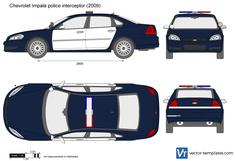 Chevrolet Impala police interceptor