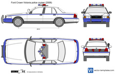 Ford Crown Victoria police cruiser