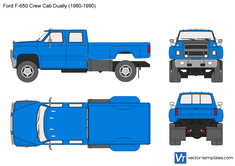 Ford F-650 Crew Cab Dually