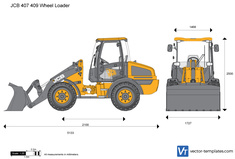 JCB 407 409 Wheel Loader