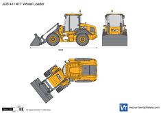 JCB 411 417 Wheel Loader