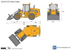 JCB 427 437 Wheel Loader