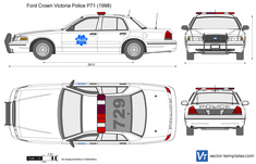 Ford Crown Victoria Police P71