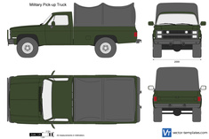 Military Pick-up Truck