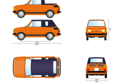 Fiat 126 650 Cabriolet