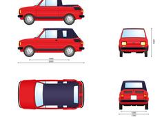 Fiat 126P 650 Cabrio Bosmal Polski
