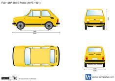 Fiat 126P 650 E Polski