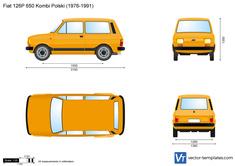 Fiat 126P 650 Kombi Polski
