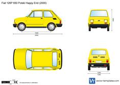 Fiat 126P 650 Polski Happy End