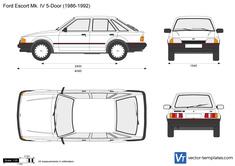 Ford Escort Mk. IV 5-Door
