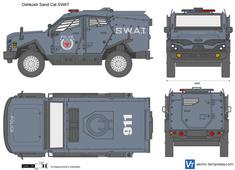 Oshkosh Sand Cat SWAT