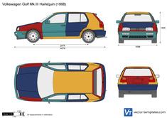 Volkswagen Golf Mk.III Harlequin