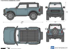 Ford Bronco Badlands 2-Door