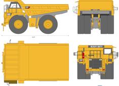 Caterpillar 789c Mining Truck
