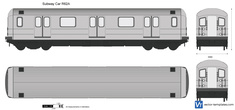 Subway Car R62A New York