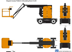 Skyjack Access Platform Articulating Boom SJ30