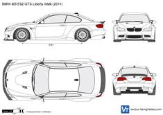 BMW M3 E92 GTS Liberty Walk