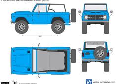 Ford Bronco Barrett-Jackson Edition