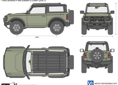 Ford Bronco First Edition 2-Door