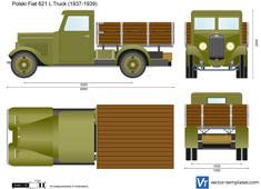 Polski Fiat 621 L Truck