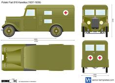 Polski Fiat 816 Karetka