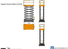 Skyjack Access Platform SJ4740