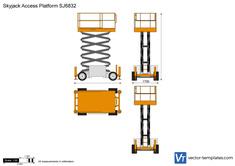 Skyjack Access Platform SJ6832