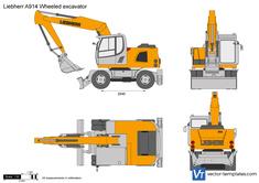Liebherr A914 Wheeled excavator