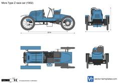 Mors Type Z race car