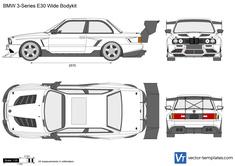BMW 3-Series E30 Wide Bodykit