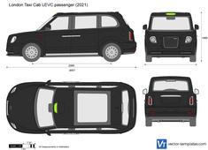 London Taxi Cab LEVC passenger
