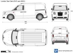 London Taxi Cab LEVC van