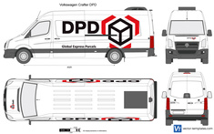 Volkswagen Crafter DPD