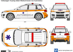 Volkswagen Touareg Italian Medical Doctor Car Automedica
