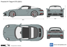 Porsche 911 Targa 4 GTS 992